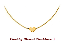 Chubby Heart Necklace