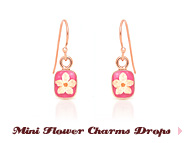 Mini Flower Charms Drops