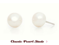 Preppy Collection: Baby Pearl Studs